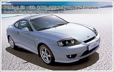 Hyundai Tiburon Coupe Genuine Oem 2001-2008 Manual Sport Pedal Set 4pcs