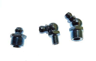 Schmiernippel Sortiment Kegelschmiernippel Set 110-tlg M6 M8 M10 45° 90° 180°