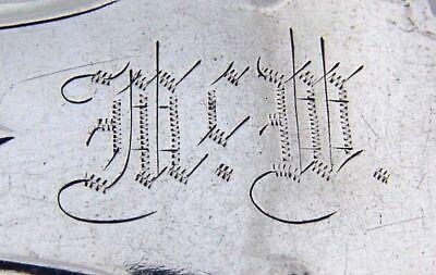 Corinthian Large Dessert Forks 3 Shiebler Sterling Silver 1855 5