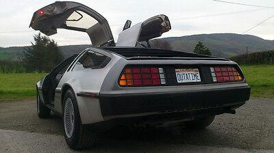 Back to the Future | Delorean | OUTATIME | STAMPED Replica Prop License Plate 4