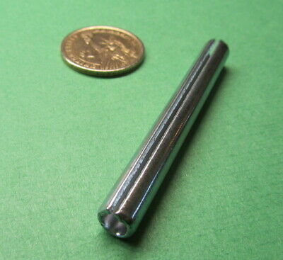 """Zinc Plate Steel, Slotted Roll Spring Pin, 5/16"""" Dia x 2 3/4"""" Length, 25 pcs 9"""