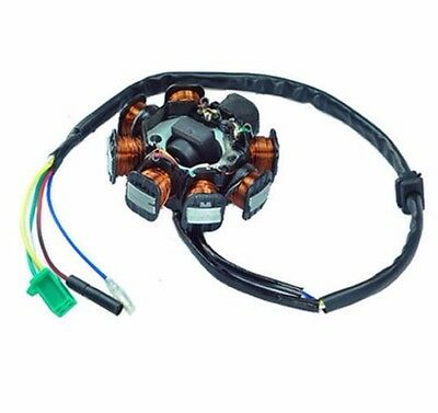 Chinese Scooter GY6 150cc 8 Pole 8 Coil Magneto Stator
