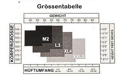 Halterlose Reisestrümpfe 70 den halterlose graduierte Kompression-Strümpfe 11/14