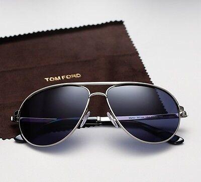 5437d0eebb TOM FORD MARKO FT 0144 silver blue (18V) Sunglasses -  239.00