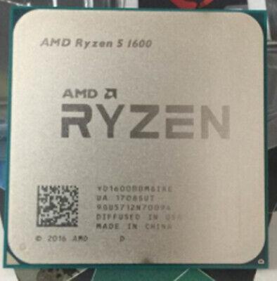 AMD Ryzen 5 R5-1400 R5-1500X R5-1600 R5-1600X Socket AM4 CPU Processor 6