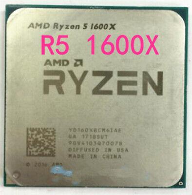 AMD Ryzen 5 R5-1400 R5-1500X R5-1600 R5-1600X Socket AM4 CPU Processor 9