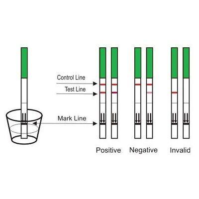 Female Fertility Menopause Test FSH Urine Testing Strip Kit Expire 05/2019 3