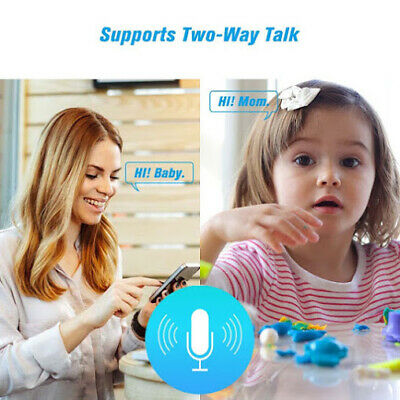 Wireless Telecamera HD 1080P WiFi IP Camera MOTORIZZATA RETE INTERNET 360 IR 4
