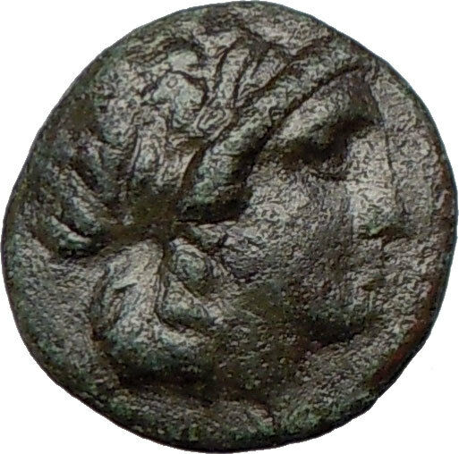 Antiochus I, Soter 280BC Seleucid King  Ancient Greek Coin APOLLO TRIPOD  i23689 2