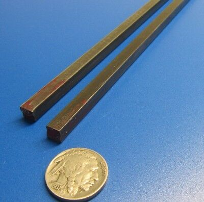 """Square W1 Tool Steel Bar  1/4"""" Thick x 1/4"""" Wide x 36"""" Length, 2 Pieces 8"""