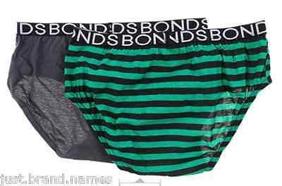 Bonds 4 Pack Boys Action Cotton Briefs Underwear size 6  8 10 12 Multi Colour