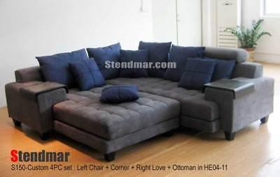 Excellent 5 Piece Modern Two Tone Sectional Sofa Set S150B 1 899 00 Creativecarmelina Interior Chair Design Creativecarmelinacom