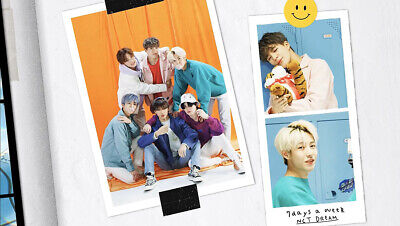 NCT DREAM RELOAD 4th Mini Album CD+POSTER+Book+F.Poster(On)+2Card+GIFT 4