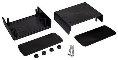 Enclosure 110x149x71MM Project Box Case PCB Housing in Black or Grey Vented KE3 3