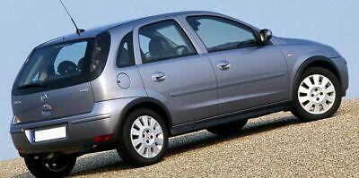 Opel Corsa C dal 2000-2006 tappetini moquette antiscivolo 2