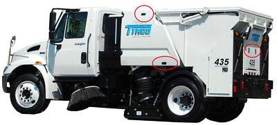 12777 Tymco Levier Loquet Compression sans Verrouillage pour 435/DST4 Sweeper 7