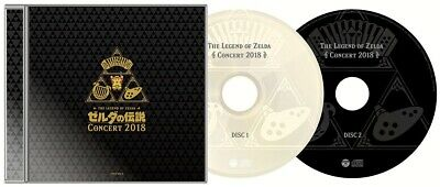THE LEGEND OF ZELDA CONCERT 2018 Limited Edition 2CD + BLU-RAY JAPAN Tracking 3