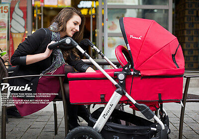 New 2 In 1 Baby Toddler Pram Stroller Jogger Aluminium With Bassinet 5 Colors 2