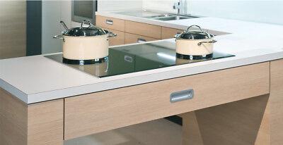 Aluminium Foil Sheet Self Adhesive Reflective Heat Worktops Protectors 1m - x10