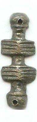 AD800 Silver Roman Byzantine Macedonia Legionnaire's Cavalry Strap Belt Appliqué 2