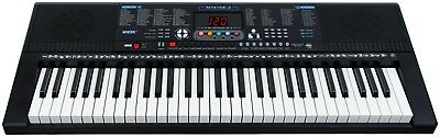 Musical Keyboard Electronic Digital Piano 61 Key Adults Beginner With Stand 10
