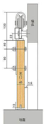 6FT China Rustic Steel Black Sliding Barn Wood Door hardware track wheel kit 6