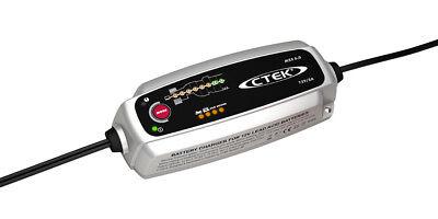 Chargeur batterie moto CTEK MXS 5A 12V de 1.2-100ah garantie 5ans avec sonde 2
