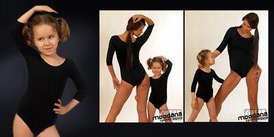 Mädchen Kinder Gymnastikanzug Ballettanzug Trikot Turnanzug Ballettbody Tanzen 2