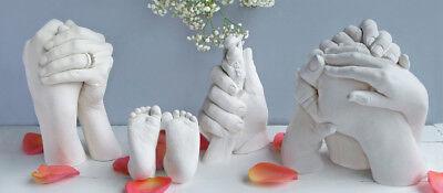 Kit per impronte 3D completo di accessori,alginato slow ,stampi di mani e piedi 2