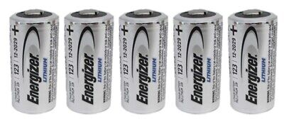 12 CR123 Energizer 3V Lithium Batteries (CR123A, DL123, EL123, CR17345) EXP 2029 2