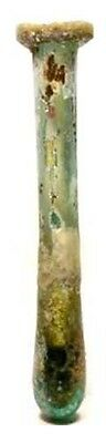 100AD XLg Genuine Ancient Roman Antiochia Syria Glass Vial Perfume Oil Unguent 3