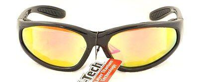 New UV400 Shatterproof G-Tech Motorcycle sunglasses/Biker Glasses + Free pouch