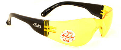 1 Yellow and 1 Tinted UV400 motorcycle/biker glasses/sunglasses Inc Free pouches 3