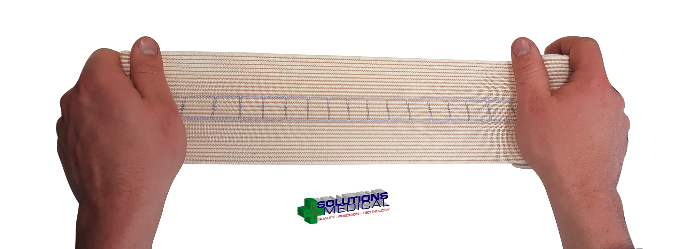 2 X Snake Bite Bandage With Compression Indicator 10Cm Width X 4.5M Stretched 6