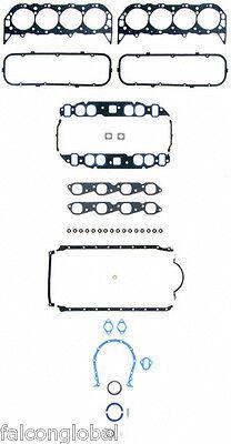 Mercruiser//Chevy Marine 4.3//4.3L//262 Engine Kit Pistons+Rings+Gaskets+Timing 1PC