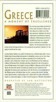 Time Life Lost Civilizations Greece VHS Pericles Athens Parthenon Delphi Apollo 2 • CAD $31.45
