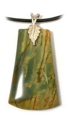 """19thC Antique 57ct Nubia Jasper Greek + Roman """"Jaspis"""" Adder Snake Head Talisman 2"""