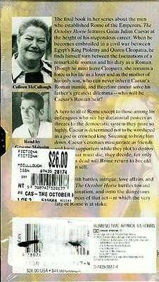 October Horse Tape Julius Caesar M Antony Cleopatra Octavius Ancient Roman Egypt 2
