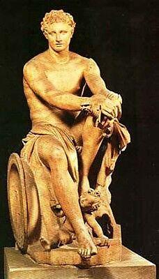 Classical Deities & Heroes Ancient & Medieval Art Myths Gaea Kronos Zeus Urqanus 2