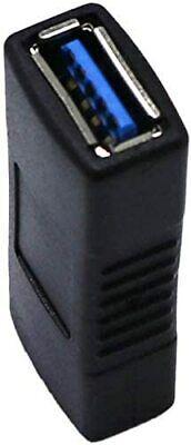Adaptateur Convertisseur USB 3.0 Femelle/Femelle Connecteur Rallonge Prise 5Gbps 3