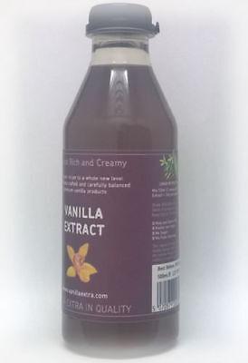 500ml Bourbon Vanilleschoten Vanille Extrakt reine ursprüngliche Blumenaroma 4