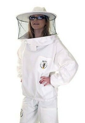 BUZZ Beekeepers Bee Tunic / Jacket with round veil and Trousers set - All sizes 2 • EUR 39,50