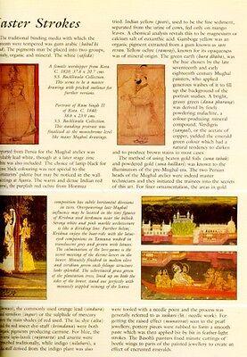 Indian Miniature Painting Color Rajasthani Mughal Deccani Pahari Manuscripts Pix 5