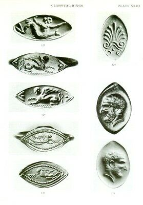 Greek Etruscan Finger Rings Engraved Gemstones Oxford Ashmolean Hellenistic Pix 9