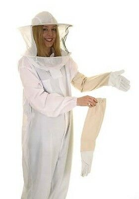 BUZZ BASIC Beekeepers Bee Suit with Round Veil and Gloves ALL SIZES 2