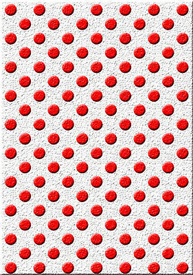 Polka dot Stencil Vintage Pattern Paint Card making Home Decor Crafts Art TE135