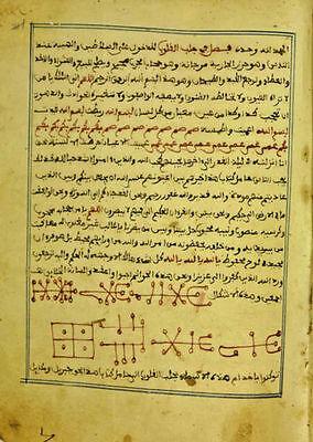 24 Titles Digital Arabic Manuscript Illustrated Occult Numerology Magic