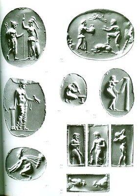 HUGE Greek Intaglio Gems Finger Rings Bronze Age Classical Crete Mycenae Persia 6