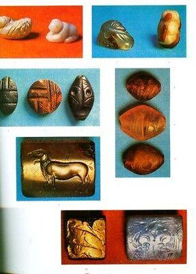 HUGE Greek Intaglio Gems Finger Rings Bronze Age Crete Mycenae Persia Classical 2