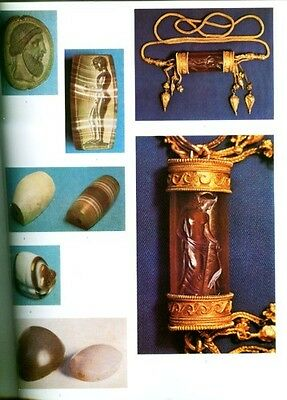 HUGE Greek Intaglio Gems Finger Rings Bronze Age Crete Mycenae Persia Classical 5